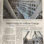 Bericht in der Siegener Zeitung über Betonsanierung im Altstadtparkhaus